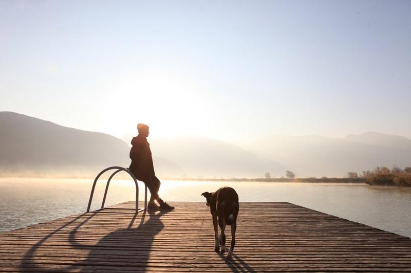 Südtirol - Kalterer See - Steg - Reiseblog Bravebird