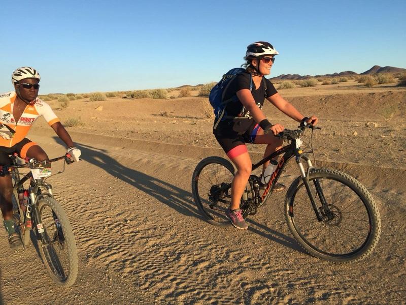 Desert Knights Mountainbike Tour durch Namibia - Reiseblog Bravebird