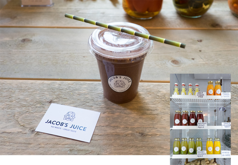 Jacobs Juice Shop in Amsterdam - Reiseblog Bravebird