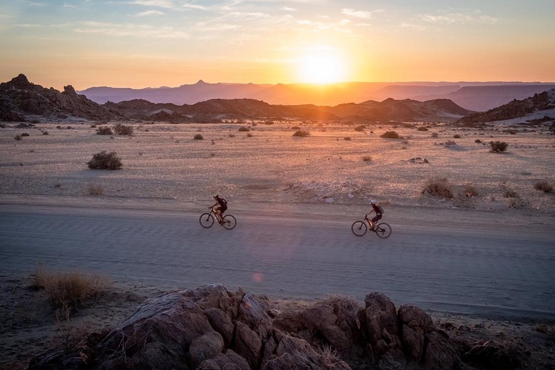 Mountainbike Namibia Desert Knight Tour - Reiseblog Bravebird