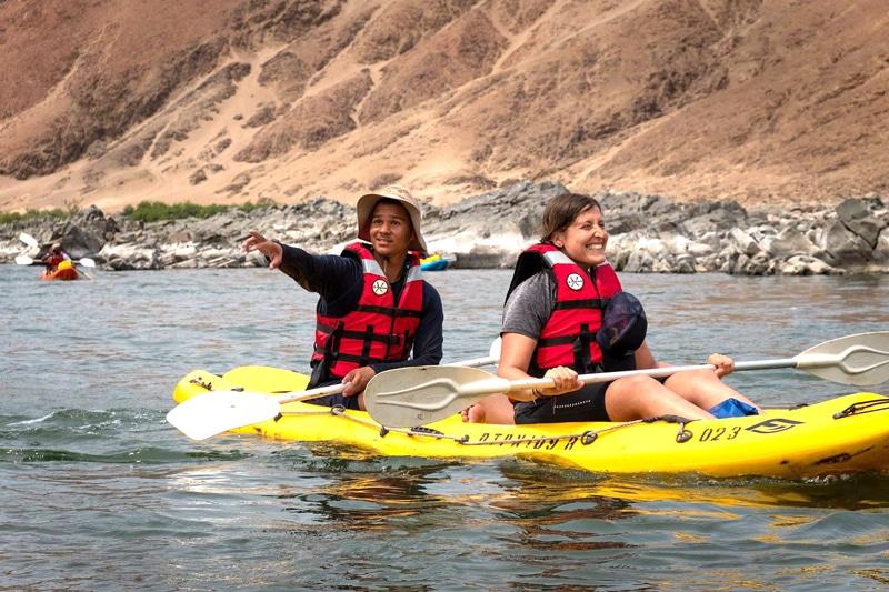 Mountainbike und Kayak Tour durch Namibia und Südafrika - Reiseblog Bravebird