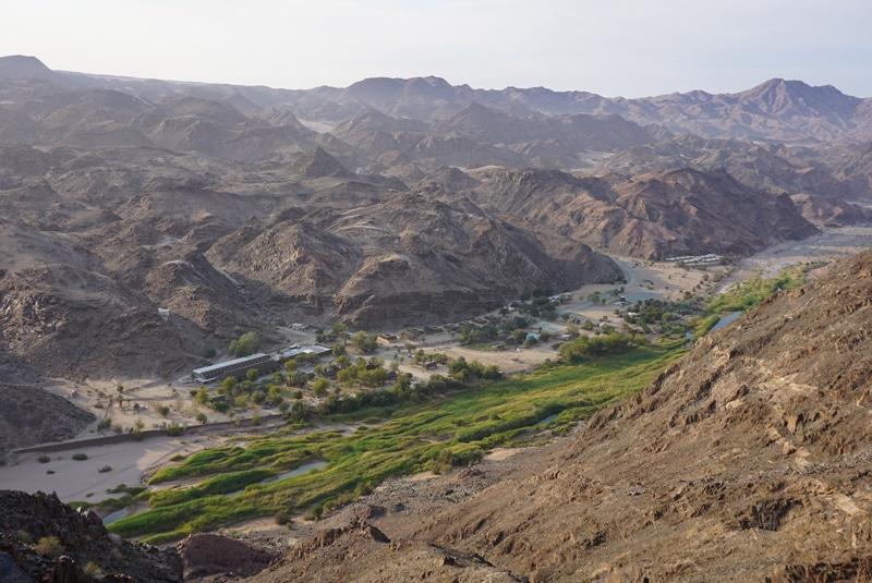 Namibia Desert Knight Tour - Schlucht im Ai Ais Nationalpark - Reiseblog Bravebird