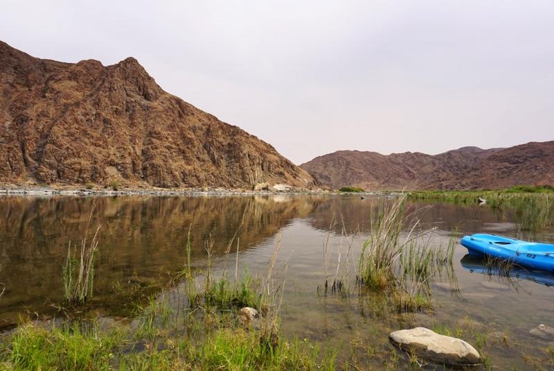 Namibia Orange River - Desert Knight Tour - Reiseblog Bravebird