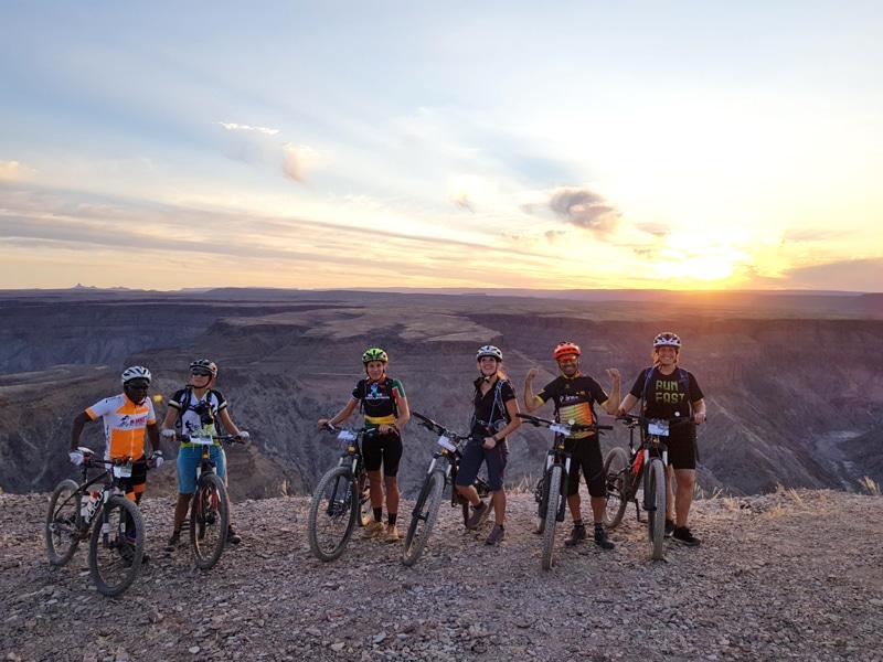 Namibia Fish River Canyon - Mountainbike Tour - Reiseblog Bravebird