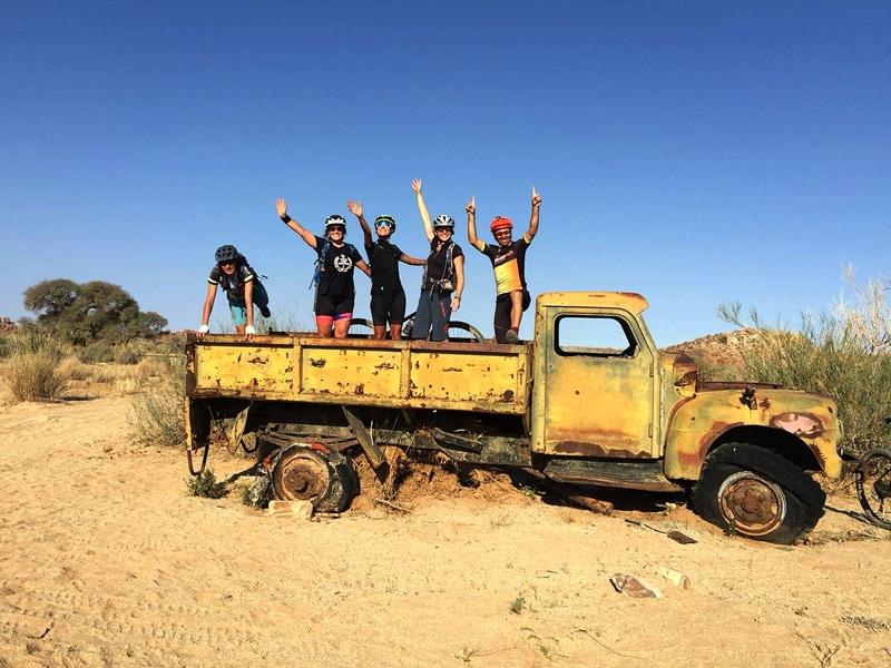 Namibia Wüstentour mit dem Bike - Desert Knights - Reiseblog Bravebird