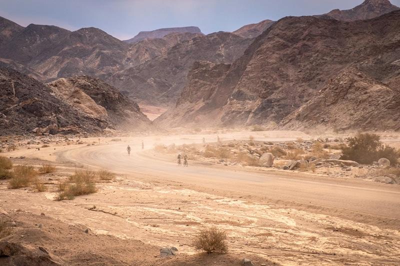 Wüstentrip durch Namibia mit dem Fahrrad - Reiseblog Bravebird