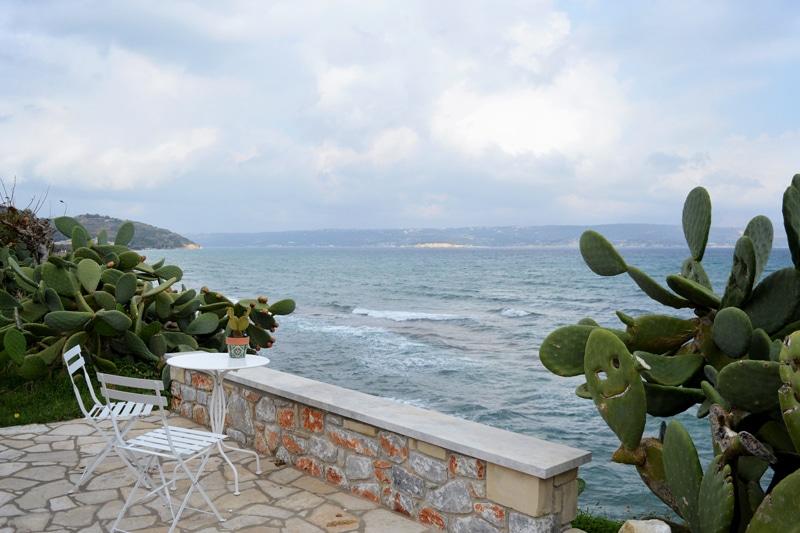 Cactus Coffee Kalyves - Kreta Griechenland - Reiseblog Bravebird