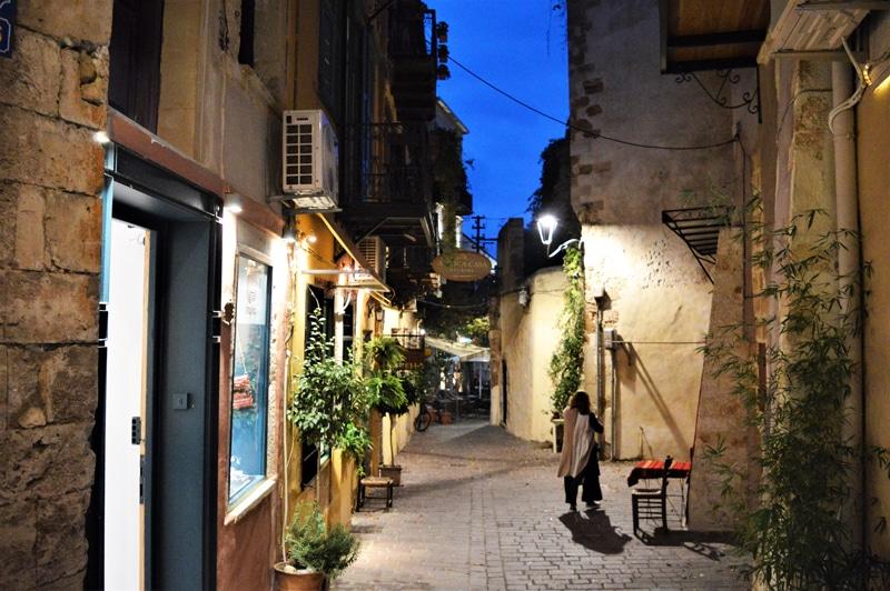 Chania Gassen - Kreta Griechenland - Reiseblog Bravebird