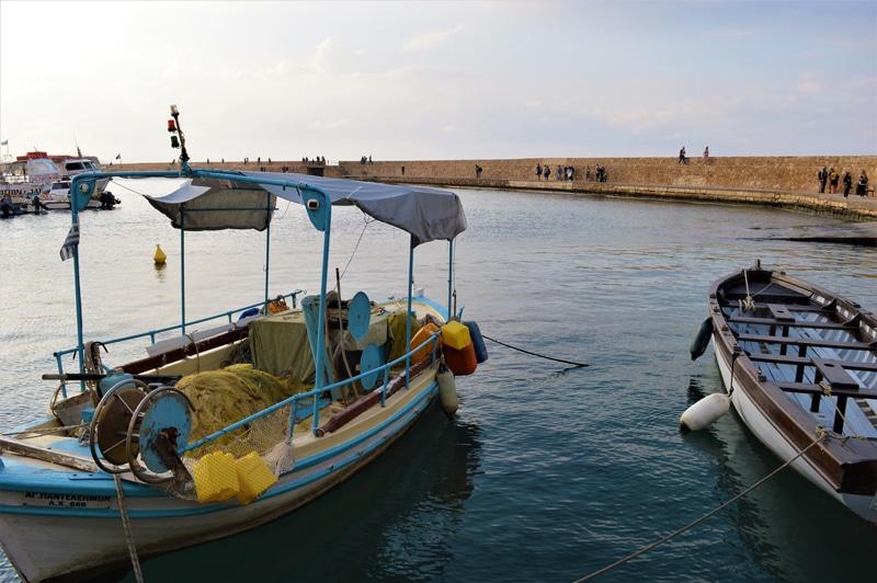 Chania Hafen in Kreta - Reiseblog Bravebird