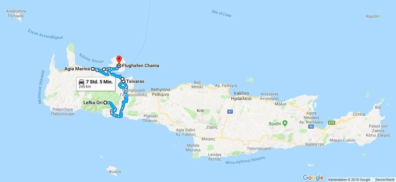 Kreta Westen - Rundreise Griechenland - Reiseblog Bravebird