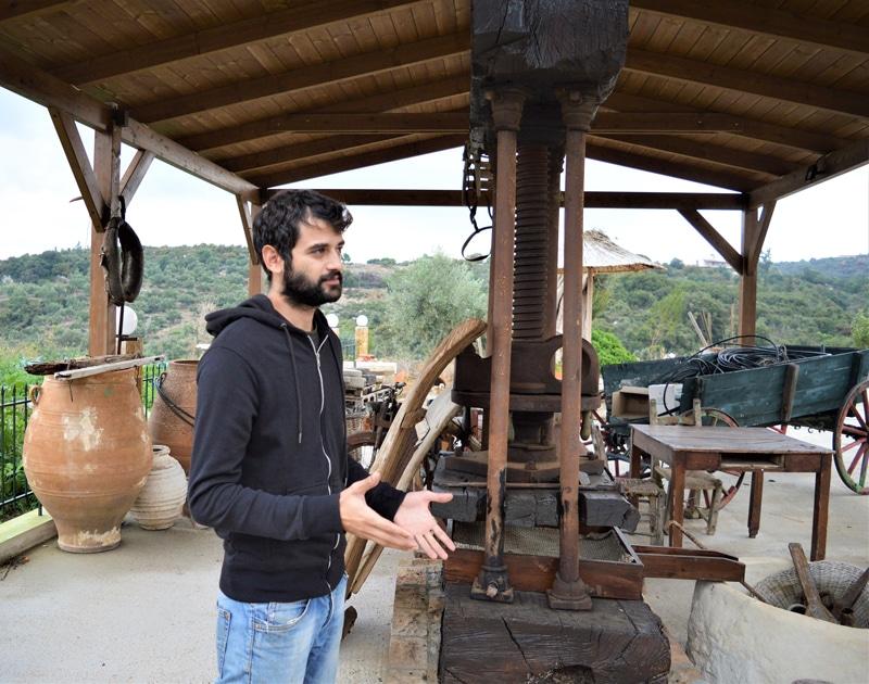 Olivenölfabrik Melissakis - Kreta Griechenland - Reiseblog Bravebird