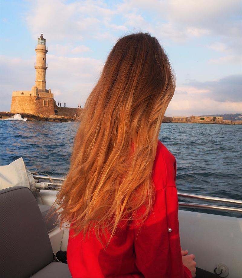 Sonnenuntergang Chania - Kreta Griechenland - Reiseblog Bravebird