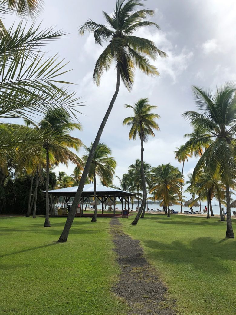 Yoga auf Martinique - Club Med Resort Les Boucaniers - Reiseblog Bravebird