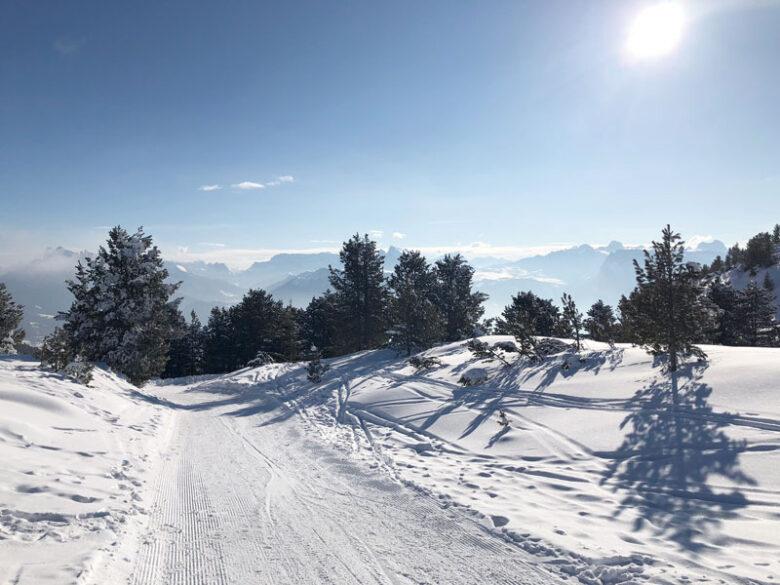 Südtirol Rittner Horn - Panoramablick Ritten - Reiseblog Bravebird