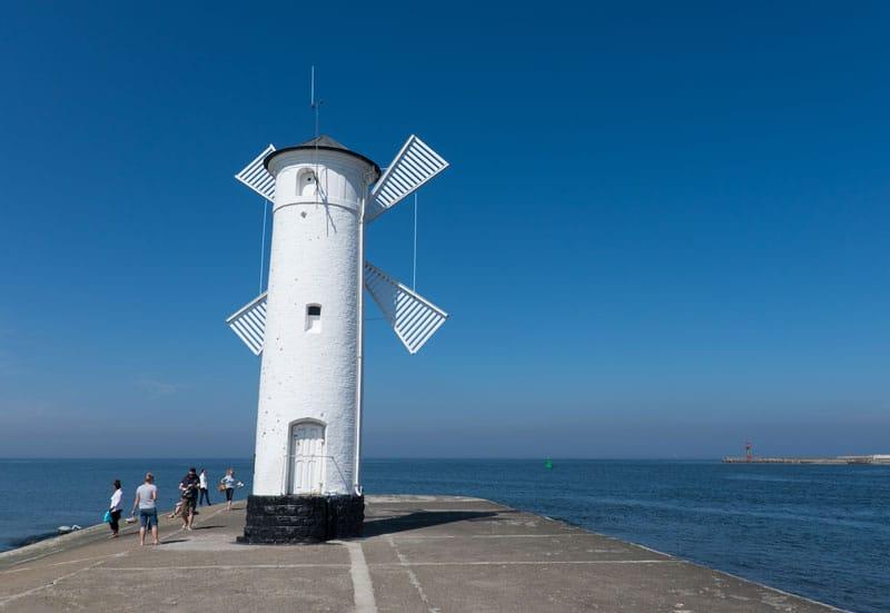 Leuchtturm Mühlenbake in Swinemünde - Reiseblog Bravebird