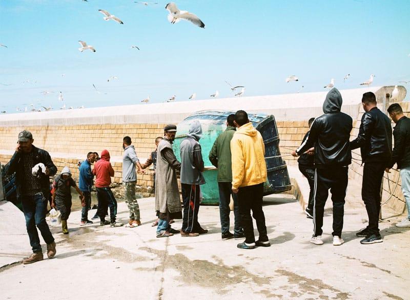 Essaouira Fischmarkt - Marokko Reisebericht - Reiseblog Bravebird