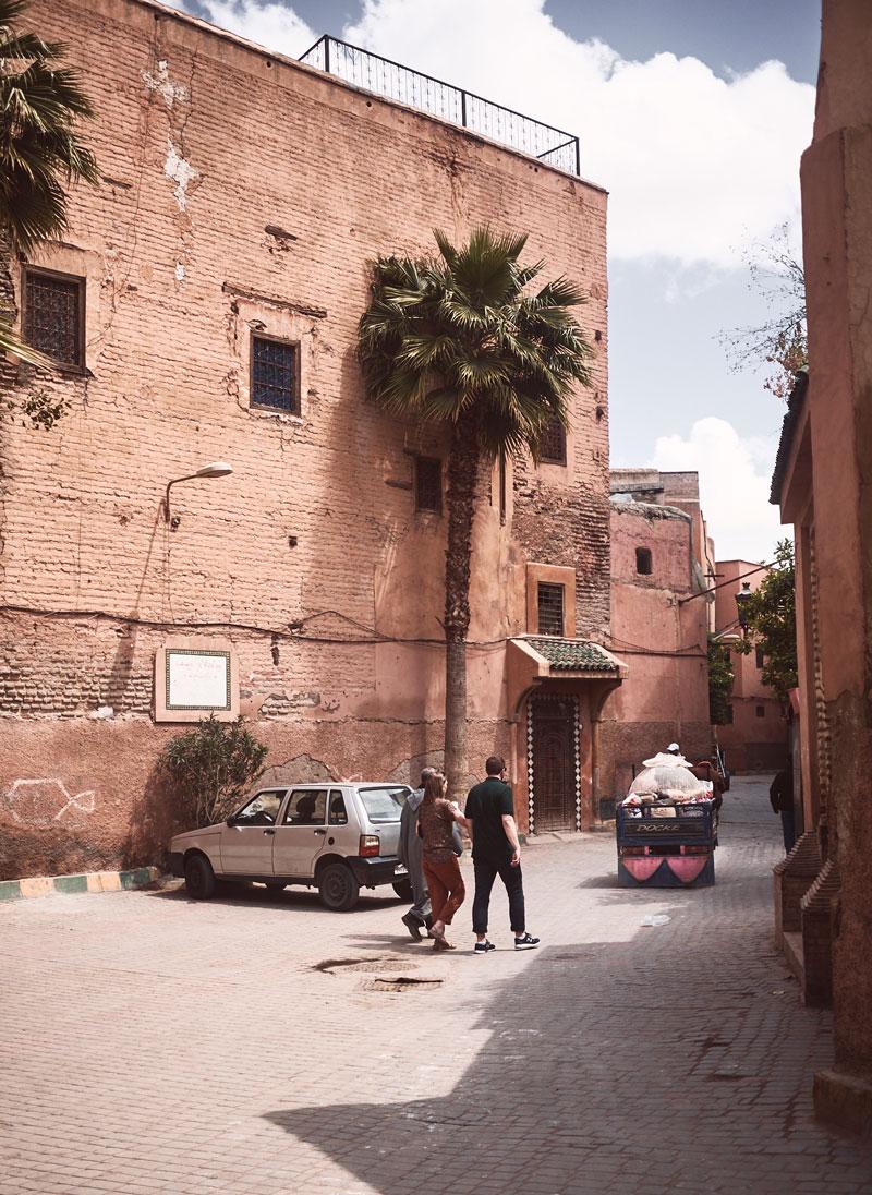 Marokko Reise - Marrakesch Gassen - Reiseblog Bravebird