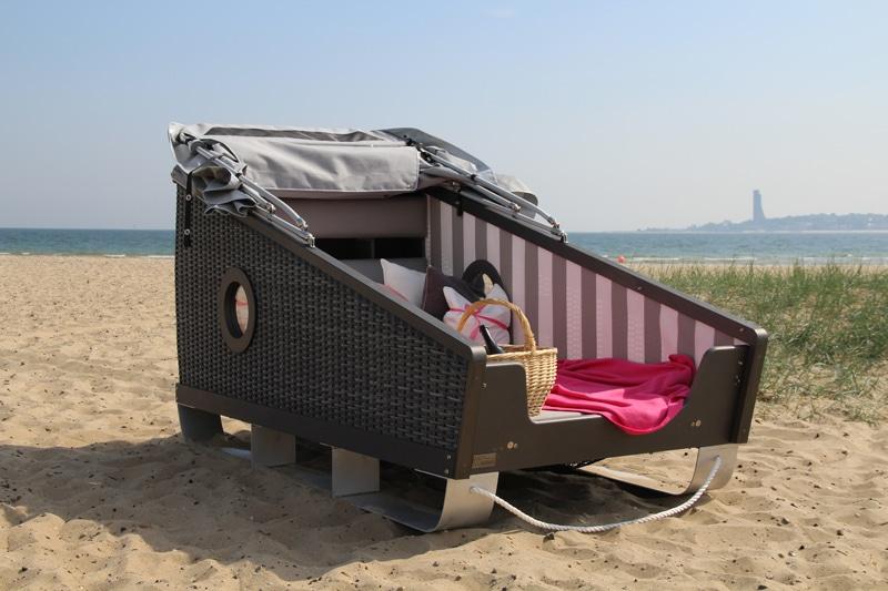 Übernachten im Strandkorb - Reiseblog Bravebird