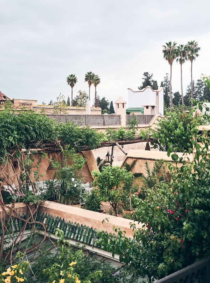 Marokko Reise Marrakesch - Dachterrassen Cafes - Reiseblog Bravebird