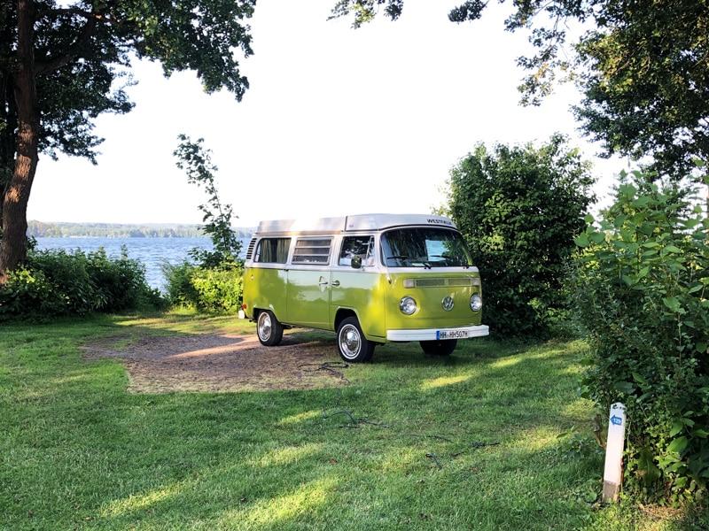 Campen in der Natur am See - Reiseblog Bravebird