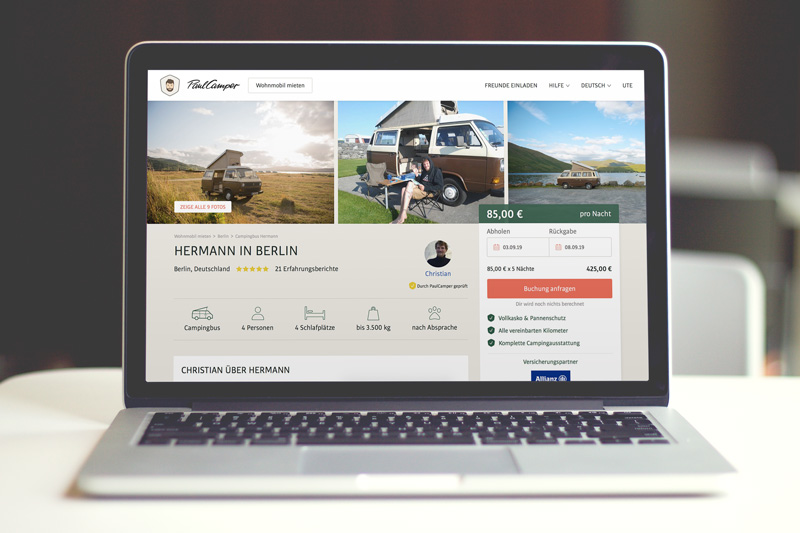 Camper mieten - PaulCamper - Reiseblog Bravebird