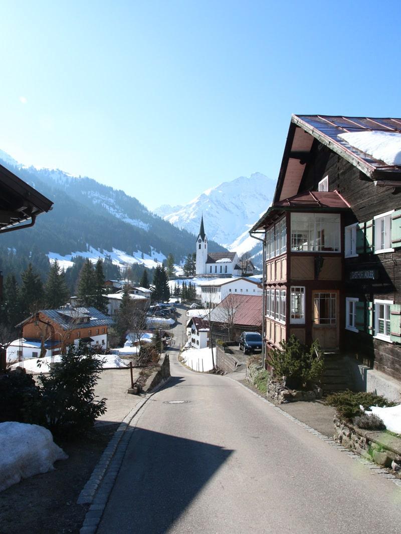 Hirschegg im Kleinwalsertal - Reiseblog Bravebird