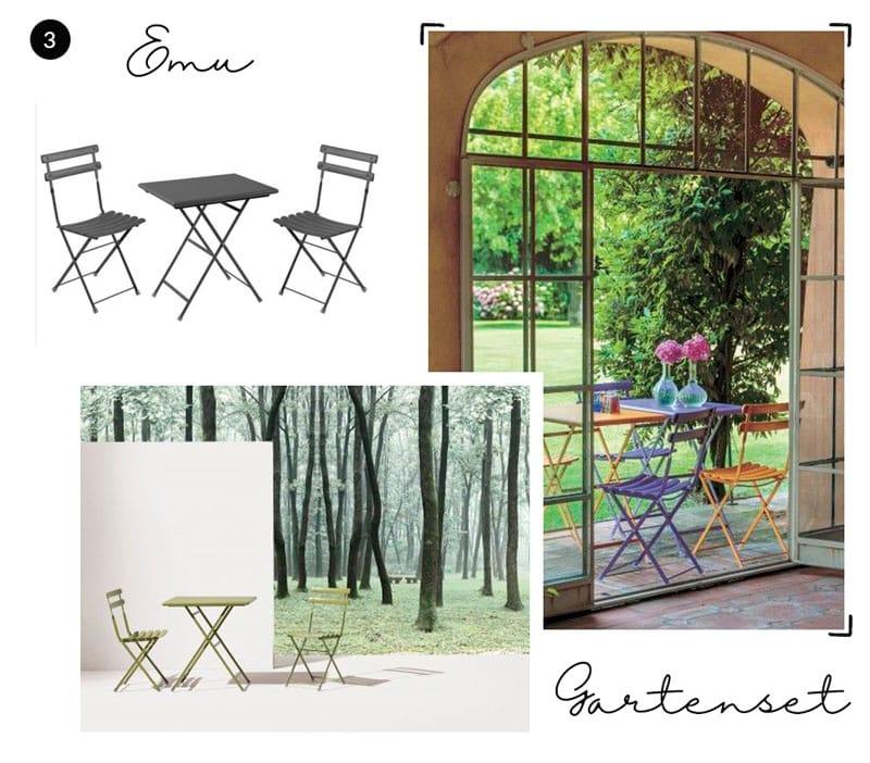 Emu Tische und Stühle zum Klappen - Reiseblog Bravebird