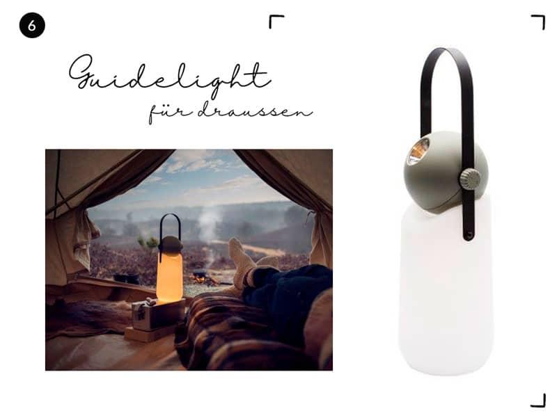 Guidelight LED für draussen - Reiseblog Bravebird