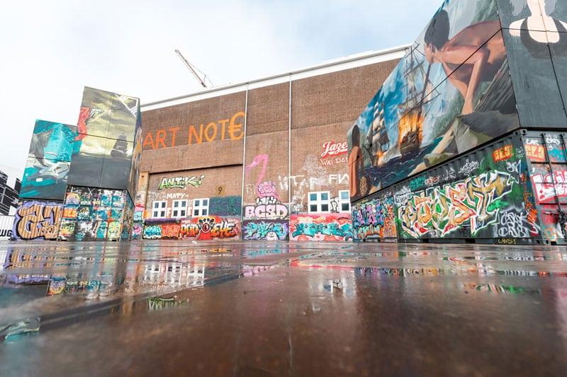 NDSM Werft Amsterdam - Künstlerviertel - Reiseblog Bravebird