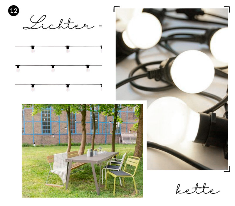 Lichterkette Outdoor - Reiseblog Bravebird