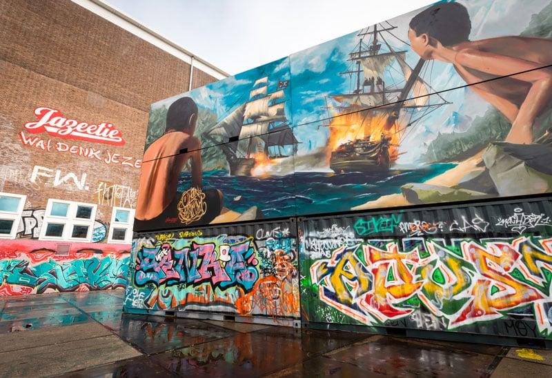 NDSM Werft Amsterdam - Reiseblog Bravebird