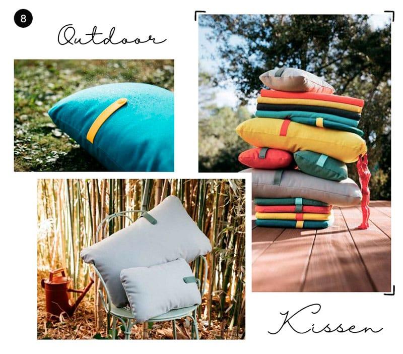 Outdoor-Kissen Fermob Color - Reiseblog Bravebird