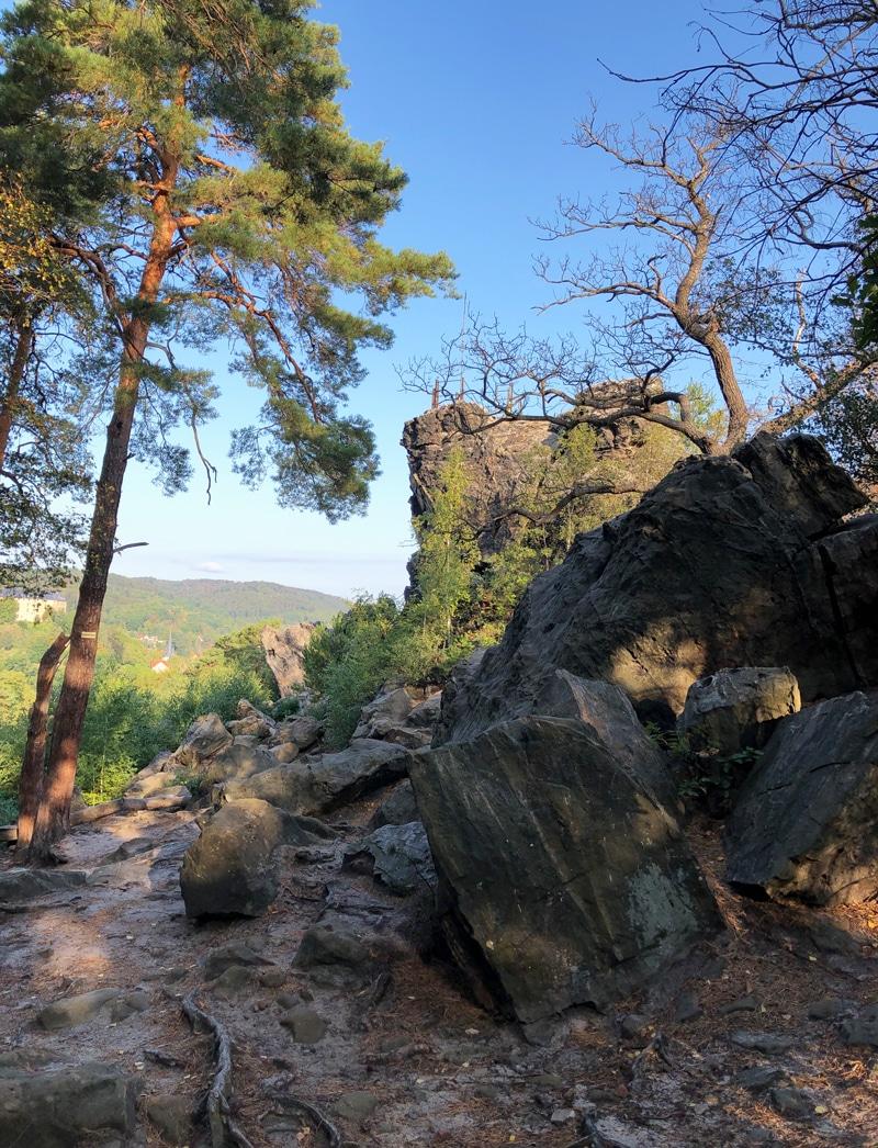 Grossvater Felsen in Blankenburg an der Teufelsmauer - Reiseblog Bravebird