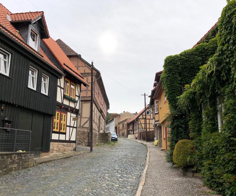 Altstadt in Blankenburg im Harz - Reiseblog Bravebird