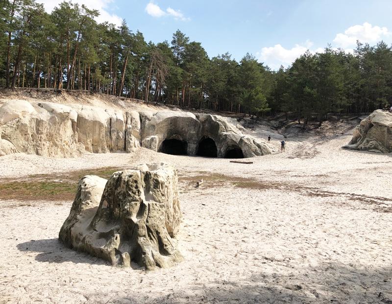 Sandhöhlen im Harz bei Blankenburg - Reiseblog Bravebird