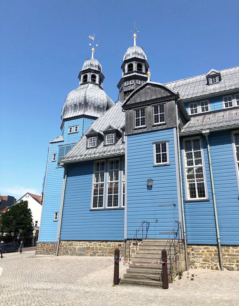 Marktkirche in Clausthal-Zellerfeld - Reiseblog Bravebird