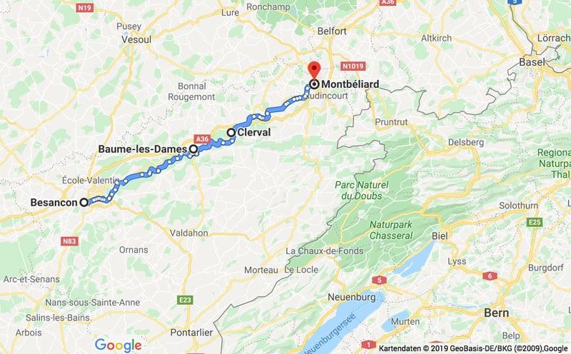 Fahrradtour durch das Burgund - Reiseblog Bravebird