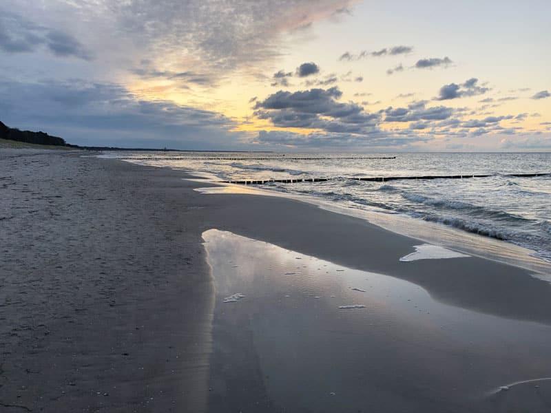 Strand Fischland-Darß-Zingst - Reiseblog Bravebird