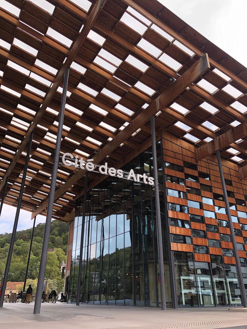 Cité des Arts in Besancon - Urlaub in Frankreich - Reiseblog Bravebird