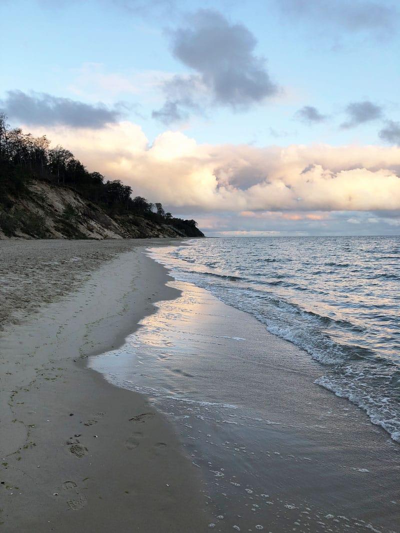 Strand bei Stubbenfelde - Reiseblog Bravebird