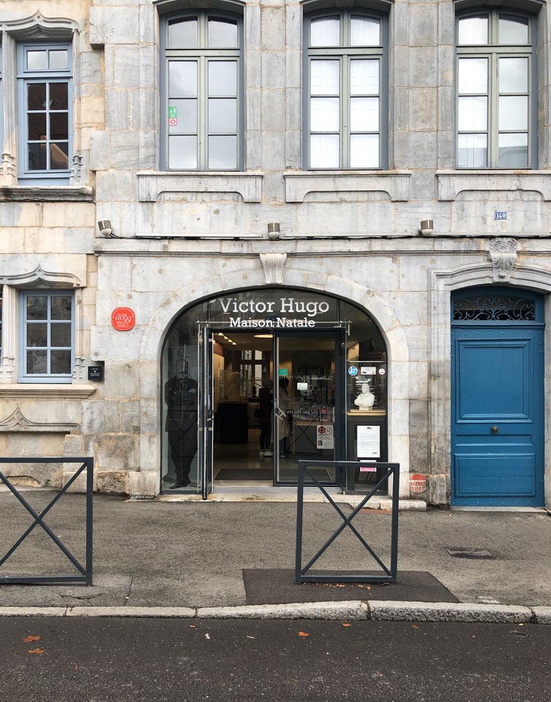 Victor Hugo Haus Besancon - Reiseblog Bravebird