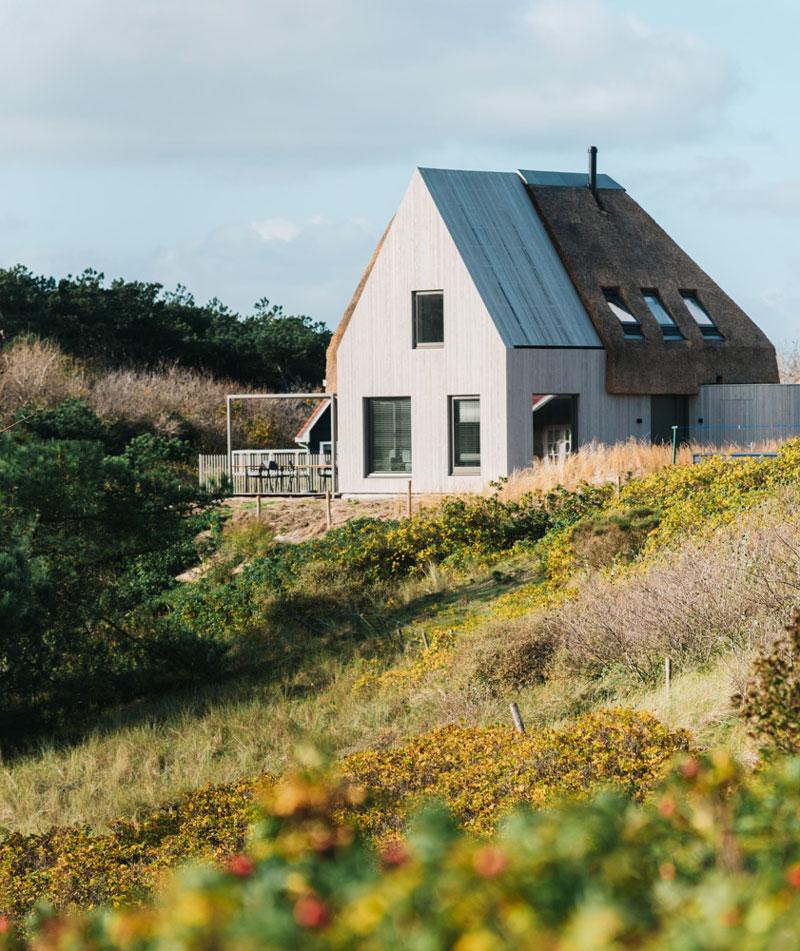 Häuser auf Vlieland - Reiseblog Bravebird