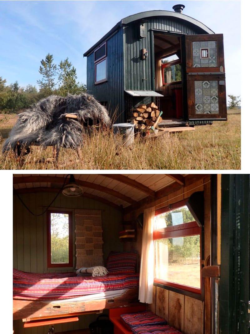 Ferienhaus in Holland - Mantinge Bauwagen - Reiseblog Bravebird
