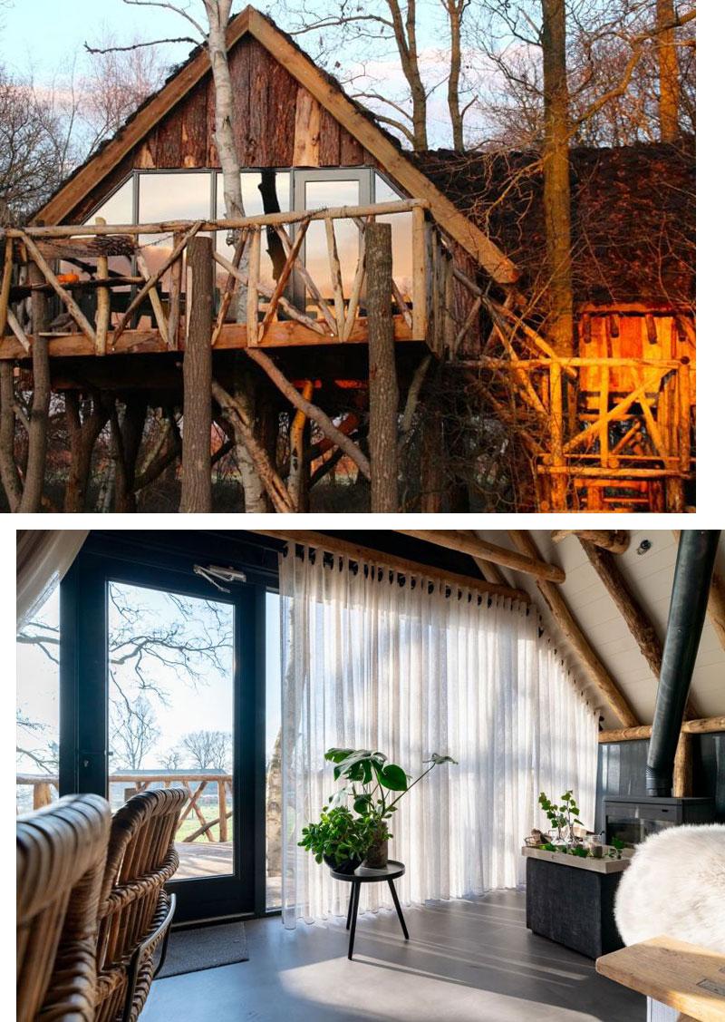 Baumhaus Ferienhaus in Holland - Reiseblog Bravebird