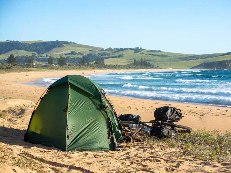 Mit dem Fahrrad durch Australien - Carsten Grüttner von Bikeload - Reiseblog Bravebird