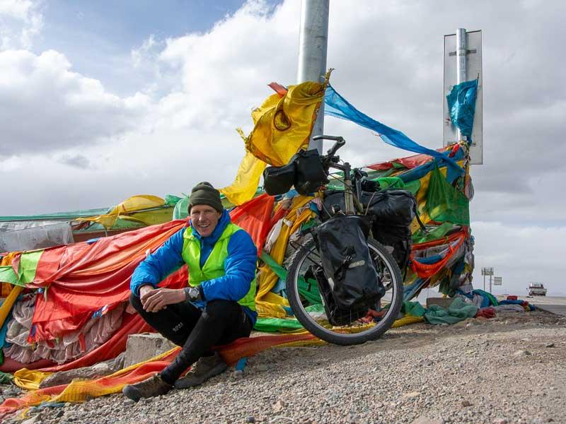 Mit dem Fahrrad durch Tibet - Carsten Grüttner von Bikeload - Reiseblog Bravebird