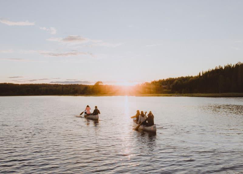 Kanutour durch Schweden - Reiseblog Bravebirdq