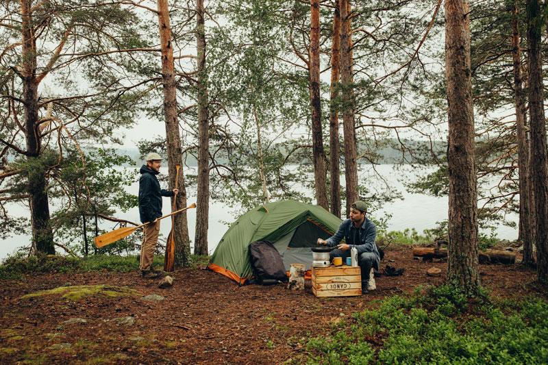 Kanutour durch Schweden - Canoetrip Tour und Zelten - Reiseblog Bravebird