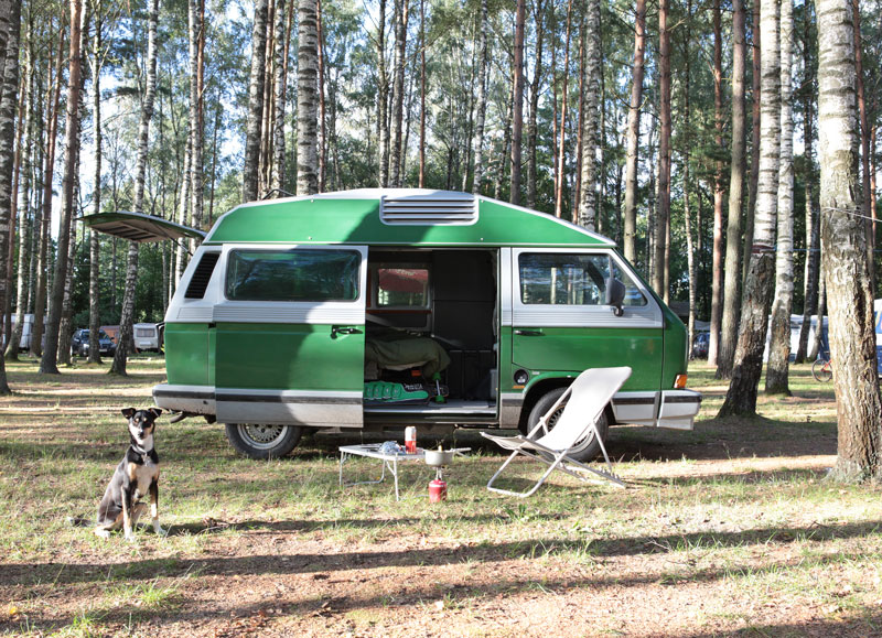 Camping in Polen - Reiseblog Bravebird