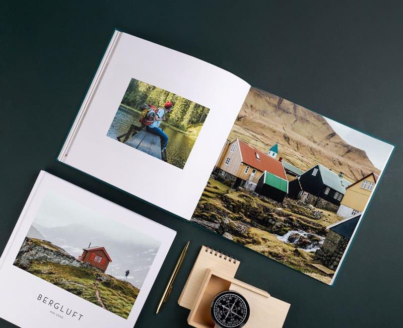 Fotobuch erstellen und gestalten - Reiseblog Bravebird
